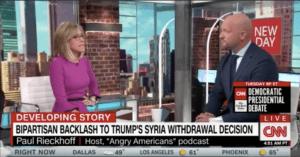 Paul Rieckhoff on CNN New Day — Trump Abandons the Kurds