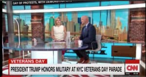 Rieckhoff on CNN's New Day – Veterans Day Parade in NYC