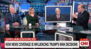 Rieckhoff on CNN's Reliable Sources January 5, 2020