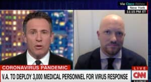 Rieckhoff on Cuomo Prime Time -The VA and Coronavirus Preparedness and Testing – March 20, 2020