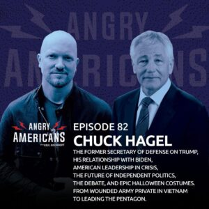 82. Chuck Hagel. The Former Sec. of Defense on Trump, His Relationship with Biden, American Leadership in Crisis, the Future of Independent Politics, the Debate, and Epic Halloween Costumes. From Wounded Army Private in Vietnam to Leading the Pentagon.