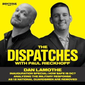 96. SPECIAL DISPATCH: Dan Lamothe. The Washington Post Pentagon Reporter. BREAKING: 12 National Guard Soldiers Removed from Inauguration Duty. How Safe Is DC? Inside the Military Presence in Washington. Screening 25,000 Troops for Extremism.