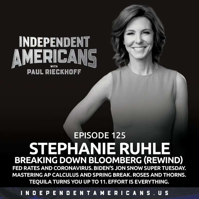 125. The January 6th Hearings. Terrorists vs Heroes. Simone Biles Under Attack. GUEST: STEPHANIE RUHLE (REPLAY). Fed Rates and Coronavirus. Mastering AP Calculus AND Spring Break. Roses and Thorns. Tequila Turns You Up To 11. Effort is Everything.